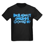 Dads Against Daughters Growing Up Kids Dark T-Shir