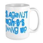 Dads Against Daughters Growing Up Large Mug