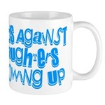 Dads Against Daughters Growing Up Mug