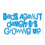 Dads Against Daughters Growing Up Postcards (Packa