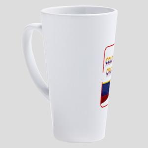 Colombiano orgulloso 17 oz Latte Mug