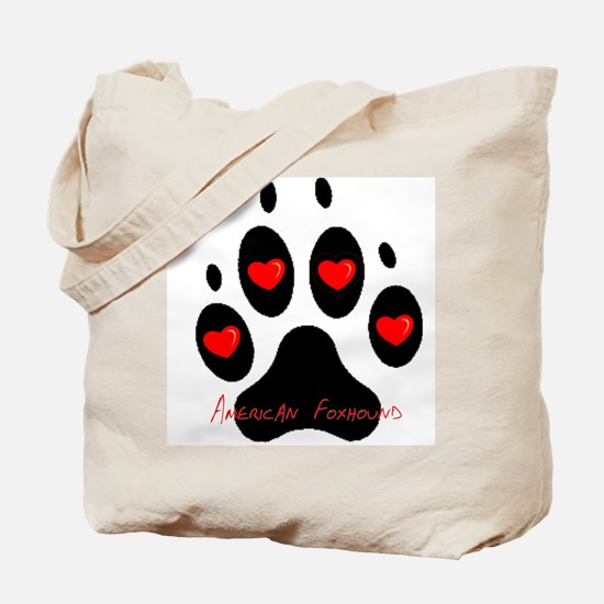 """""""American Foxhound"""" Tote Bag"""