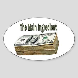 The Main Ingredient Sticker