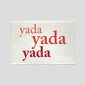 """Yada Yada Yada"" Rectangle Magnet"