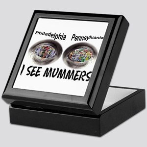 i see mummers 1 Keepsake Box