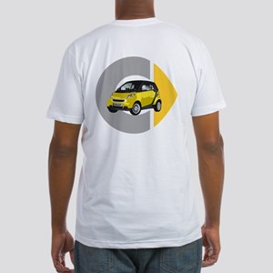 What's Your Color? Yellow Smart Car Fitted T-Shirt