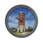 Manistique Water Tower Wall Clock
