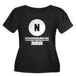 N Judah (Classic) Women's Plus Size Scoop Neck Dar