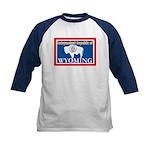 Wyoming-4 Kids Baseball Jersey