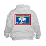 Wyoming-4 Kids Hoodie