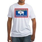 Wyoming-4 Fitted T-Shirt
