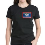 Wyoming-4 Women's Dark T-Shirt