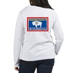 Wyoming-4 Women's Long Sleeve T-Shirt