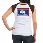 Wyoming-4 Women's Cap Sleeve T-Shirt