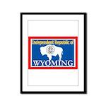 Wyoming-4 Framed Panel Print