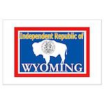 Wyoming-4 Large Poster