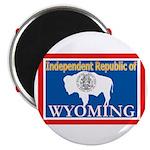 Wyoming-4 Magnet