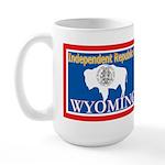 Wyoming-4 Large Mug