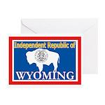 Wyoming-4 Greeting Cards (Pk of 10)