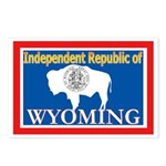 Wyoming-4 Postcards (Package of 8)