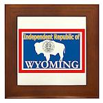 Wyoming-4 Framed Tile