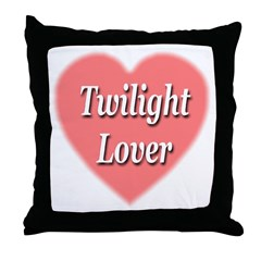 Twilight Lover Throw Pillow