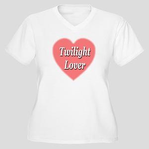 Twilight Lover Women's Plus Size V-Neck T-Shirt