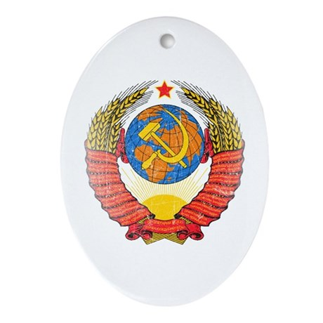 Proletariat of all Countries, Unite Ornament (Oval