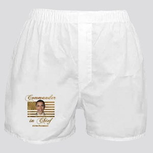 Commander in Chief Boxer Shorts