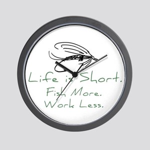 Fly Fishing Wall Clock