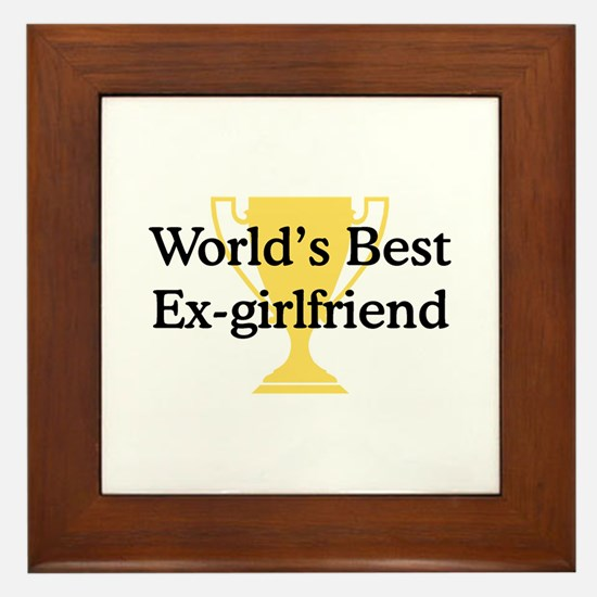 WB Ex-Girlfriend Framed Tile