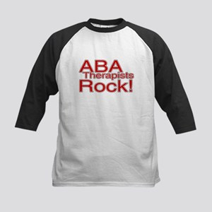 ABA Therapists Rock! Kids Baseball Jersey