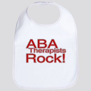 ABA Therapists Rock! Bib