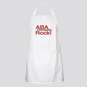 ABA Therapists Rock! BBQ Apron