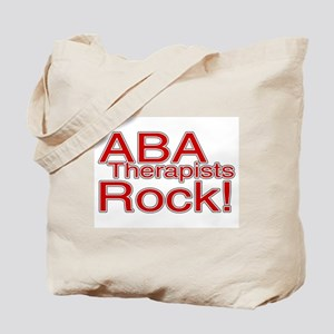 ABA Therapists Rock! Tote Bag