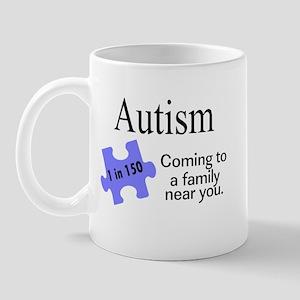 Autism, Coming To A Family Near You Mug