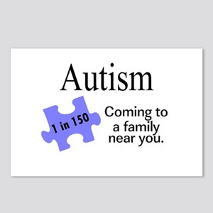 Autism, Coming To A Family Near You Postcards (Pac