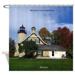 Mcgulpin Point Lighthouse Shower Curtain