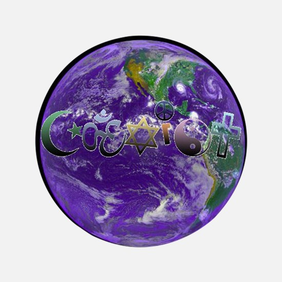 """Great Buy """"CoExist"""" 3.5"""" Button"""
