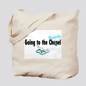 Going To The Chapel (Beach) Tote Bag