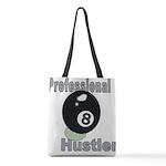 8 Ball Hustler Polyester Tote Bag