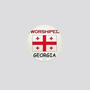 I'm Worshiped In GEORGIA Mini Button