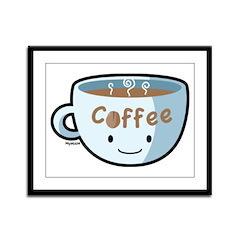 Coffee Morning Framed Panel Print