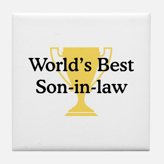 WB Son-in-law Tile Coaster