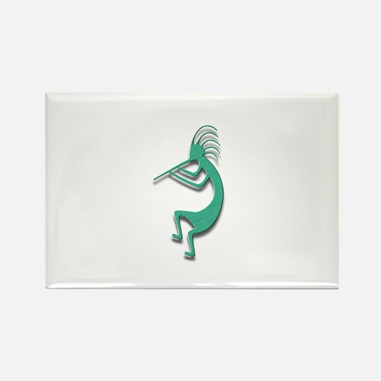 One Kokopelli #30 Rectangle Magnet