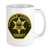 Cook county sheriff police Large Mugs (15 oz)