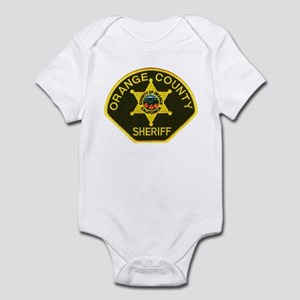 Orange Sheriff Infant Bodysuit