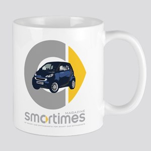 Blue/Black Smart Car Mug