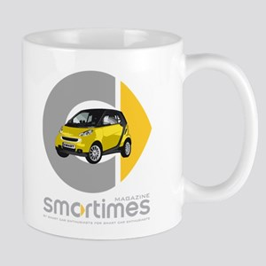 Yellow/Black Smart Car Mug
