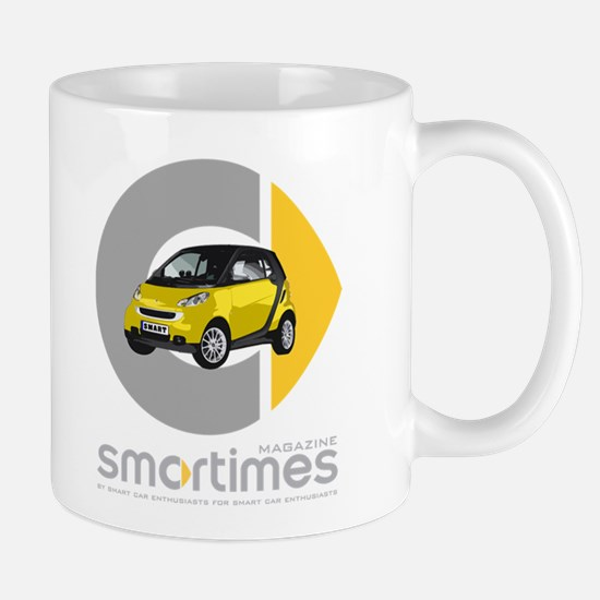 Yellow/Black Smart Car Mug